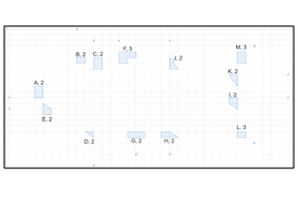 Enlargements Jigsaw (positive integer scale factors)