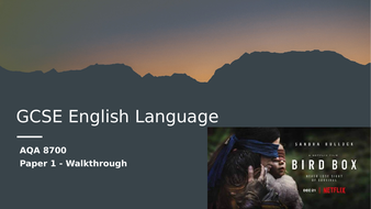GCSE-English-Language---Bird-Box-Paper-1-Walkthrough.pptx