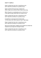 Keep-It-SImple---Lyrics.pdf