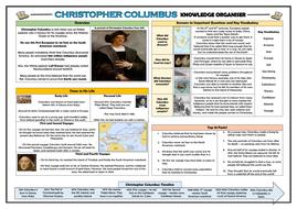 Christopher Columbus Knowledge Organiser!