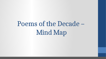 Poems-of-the-Decade---Mind-Map.pptx