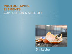 GCSE Photography - Still Life and Compositions