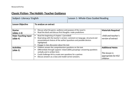 The-Hobbit--Whole-Class-Guided-Reading-plan.docx