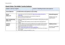 The-Hobbit--Building-tension---suspense-lesson-plan.docx