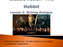 Classic-fiction--The-Hobbit--Speech.pptx