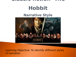 Classic-fiction--The-Hobbit--Narrative-style.pptx