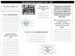 The-World-at-War-Holocaust-Worksheets.pptx