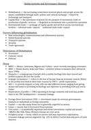 Global System & Governance glossary