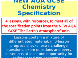 NEW-AQA-GCSE-Chemistry---The-Earth's-Atmosphere---Lessons---resources.pptx