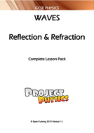 GCSE Physics Reflection & Refraction of Waves (Water) Complete Lesson Pack (with Practical)