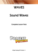 GCSE Physics Sound Waves Complete Lesson Pack (with Practical)