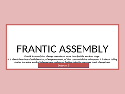Frantic-Assembly---Physical-Thetare.ppt