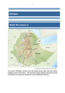 Ethiopia - Regional Study