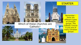 EDEXCEL A Design of Catholic churches