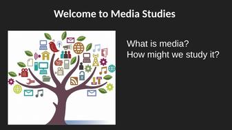 Media A Level Taster