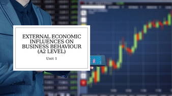 Unit 1 Business and Its Environment: External Economic Influences on Business Behaviour (A2 Level).pptx