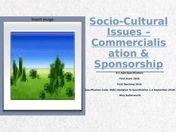 Socio-Cultural-Issues---Commercialisation-Revision-Clock.pptx