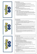 Eduqas GCSE Component 1 Media Revision Cards
