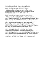 We're-Leaving-School-lyrics.pdf