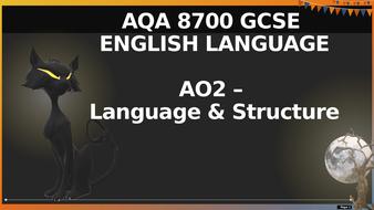 AQA-8700-GCSE---Halloween-Paper-1-Qs-1---2-Language---Structure.pptx