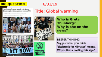 AQA new specification-Global-warming-B17.5