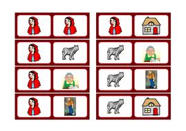 Red Riding Hood basic literacy selection, KS1, SEN, ASD