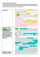 Compare contrast essay point view