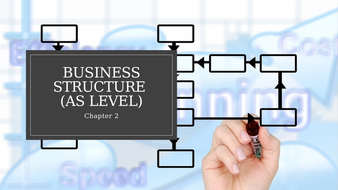 Unit 1 Business and Its Environment: Business Structure (AS Level).pptx