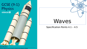 CP4 Waves  Edexcel Combined Higher 9-1  Physics  (Entire Unit)