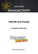 GCSE Physics Radioactivity - Half-Life and Activity Complete Lesson Pack (with Practical(s))
