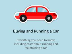 Buying, Running & Maintaining a Car