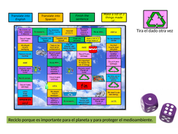 Game to revise the topic ENVIRONMENT (El medio ambiente)