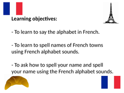 French alphabet