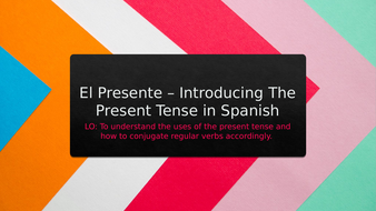 THE-PRESENT-TENSE-IN-SPANISH.pptx