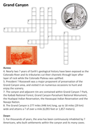 The Grand Canyon Crossword