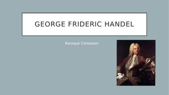 Handel Composer Presentation and Listening Guides