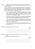 A LEVEL BIOLOGY COMPREHENSION QUESTION - APPLICATION, PRIONS   Teaching Resources