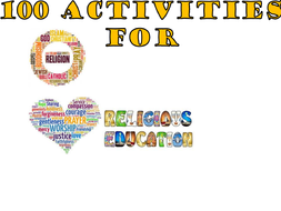 100 classroom activities for teaching Religious Education