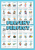 THE PRESENT PERFECT TENSE EXERCISES