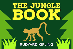 Book Posters: The Jungle Book, Holes, Watership Down