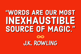 J.K. Rowling Posters: Words Are Magic