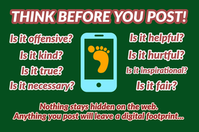 E-Safety Posters: Stay Safe Online