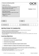 CAMNAT Enterprise and Marketing RO64 LO3 Progress Task