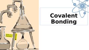 CC1 Covalent Bonding  Edexcel Combined Higher 9-1
