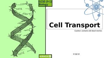 CB1 - Cell Transport - Edexcel Combined Higher 9-1 Presentation