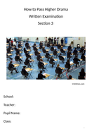 Passing Higher Drama - Section 3