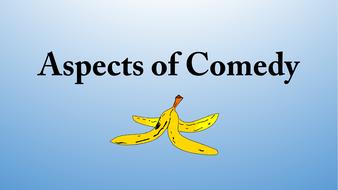 Aspects of Comedy (AQA English Literature A level)