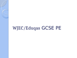 WJEC Area of study 1-4 GCSE PowerPoints