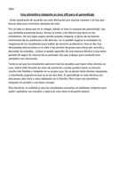 Sample Opinion Pieces for LC Spanish