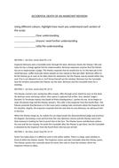 Accidental Death of an Anarchist worksheet
